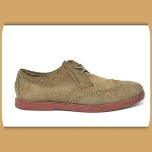 POLO RALPH LAUREN Suede Brogue Wingtip Derby Shoes